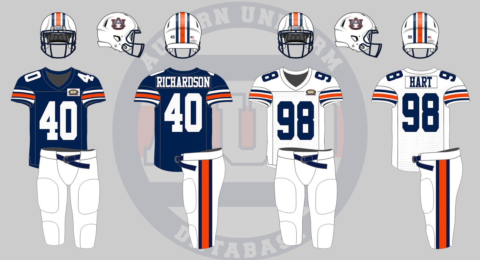The 1992-93 season marked the 100th anniversary of Auburn football 8ac0d4300