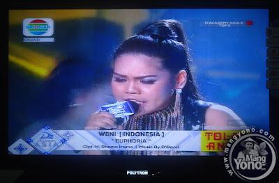 "Weni Indonesia ""EUPHORIA"""