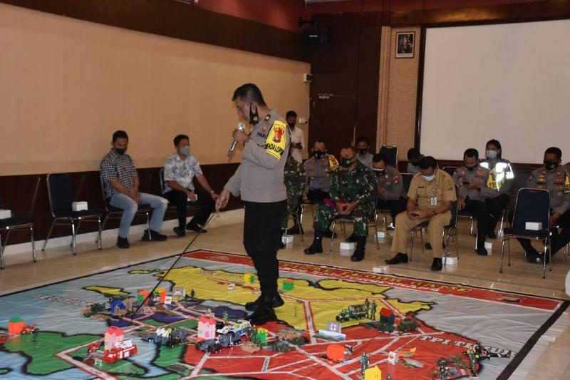 Polres Tanjungpinang Gelar TFG Dalam Rangka Sispam Kota Tanjungpinang