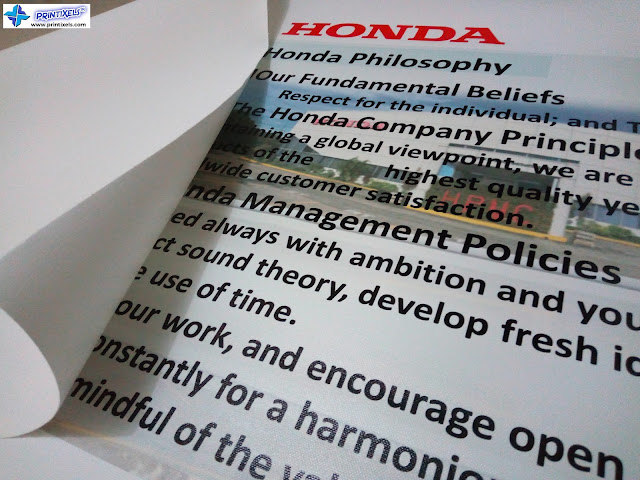 Canvas Printing - Honda Philippines