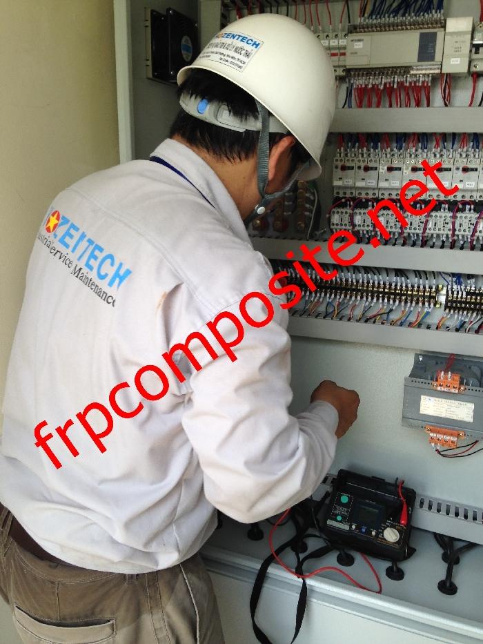 Bảo trì điện hệ thống xử lý nước thải
