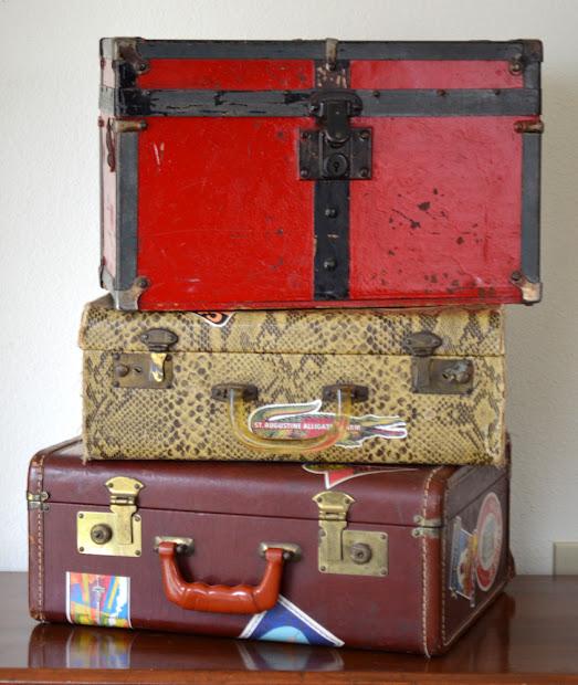 Copycat Collector Collection #221 Vintage Luggage