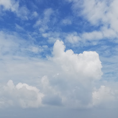 Wolken met heel kleine druppeltjes