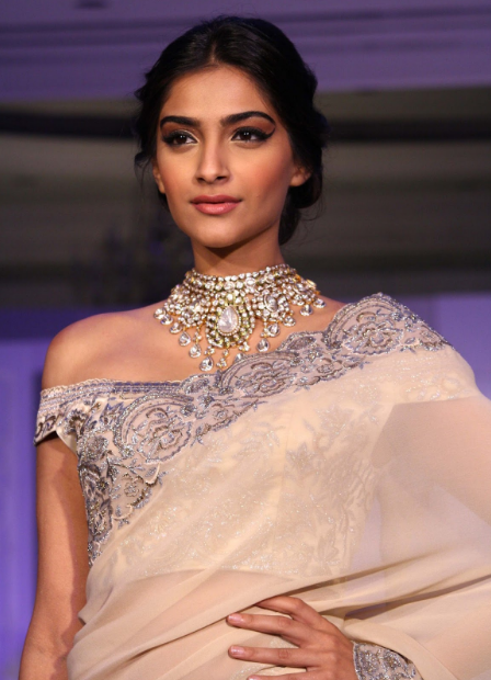 Sonam Kapoor sexy look in Saree + other HQ Unwatermarked pics