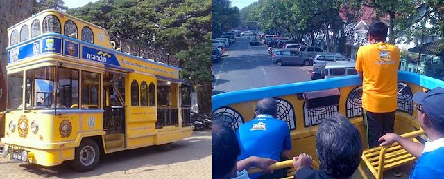 Bandung Punya Dua Bus Bandros Baru