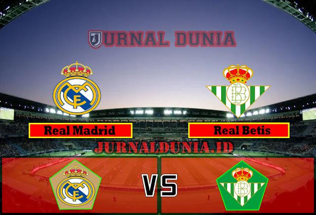 Prediksi Real Madrid vs Real Betis , Minggu 25 April 2021 Pukul 02.00 WIB