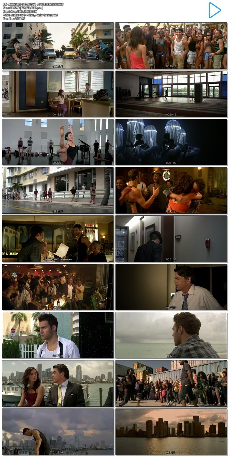 Step Up Revolution 2012 Hindi Dual Audio 720p HEVC BluRay Free Download