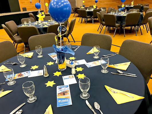 Decorate A Fundraising Auction for Cheap