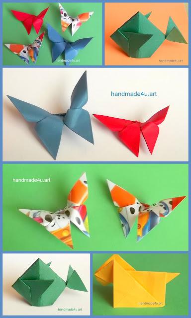 Origami i stara broszka