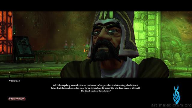 Kingdoms of Amalur: Reckoning - сюжетный гном в стильных очках