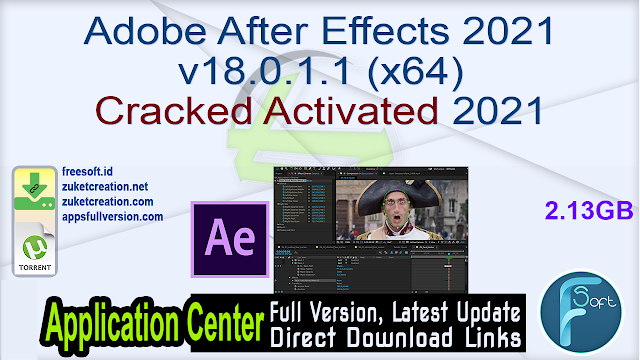 Adobe After Effects 2021 v18.0.1.1 (x64) Cracked Activated 2021