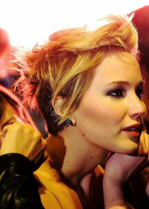 Jennifer Lawrence kicked off the short hair trend when she showcased her edgy pixie crop