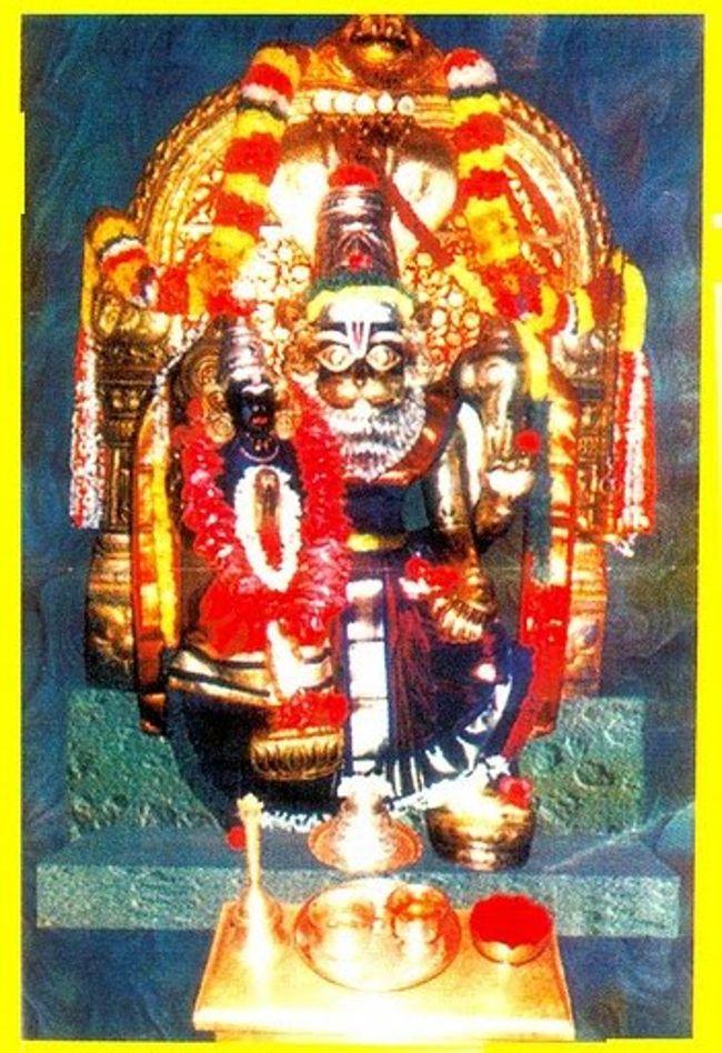 Main Deity Sri Lakshmi Narasimha Swamy