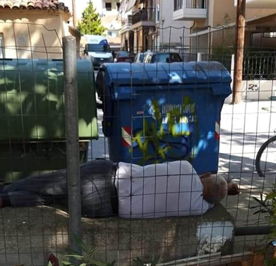 """Δήμος Λαρισαίων: """"Δεν αντιμετωπίζει πρόβλημα επιβίωσης ο Λαρισαίος που απεικονίζεται - Γνωστός στις υπηρεσίες του Δήμου"""""""