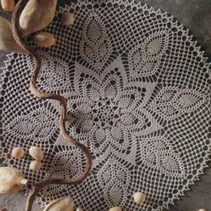 wzory serwetek szydełkowych