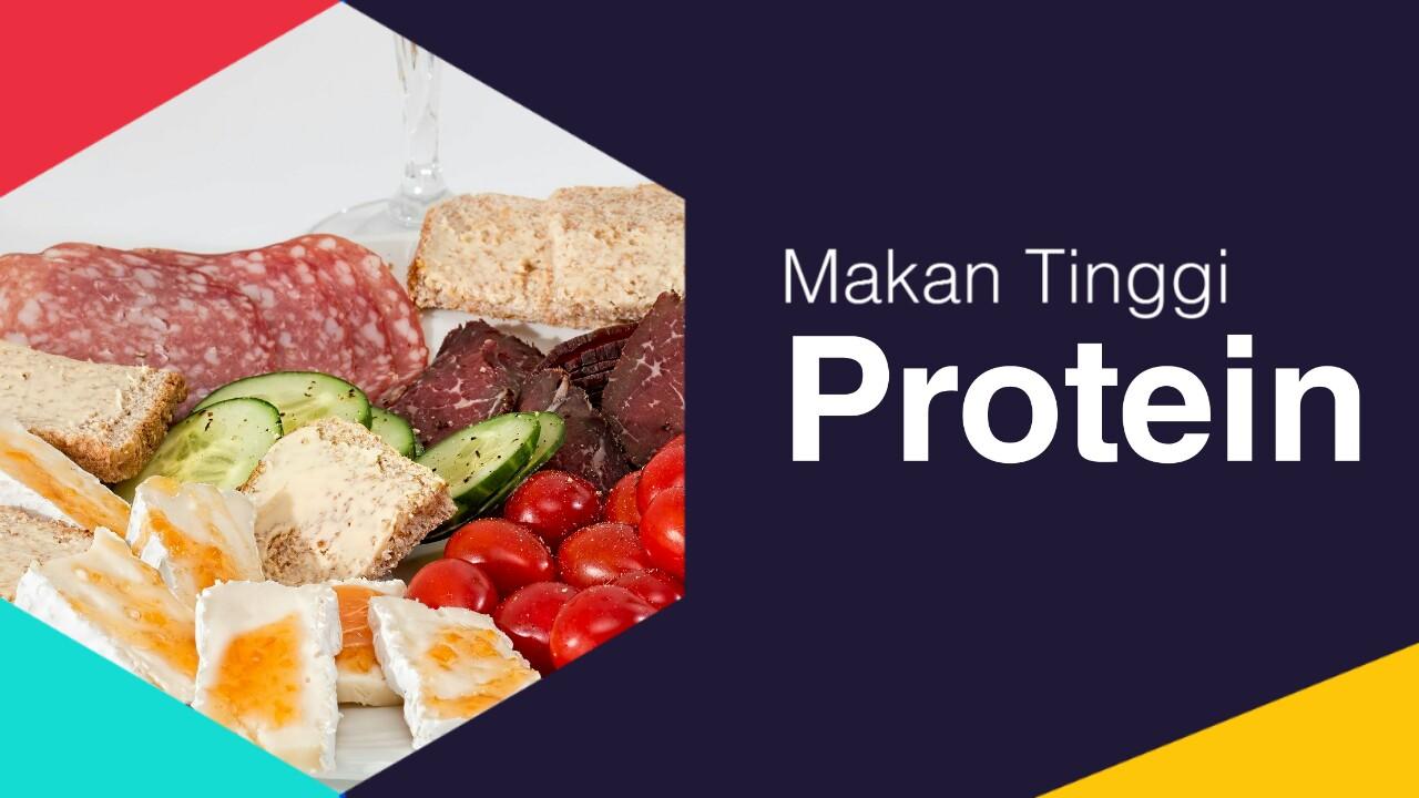 Makanan tinggi protein yang mudah ditemukan