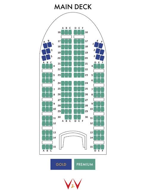 v2v vacations seating map