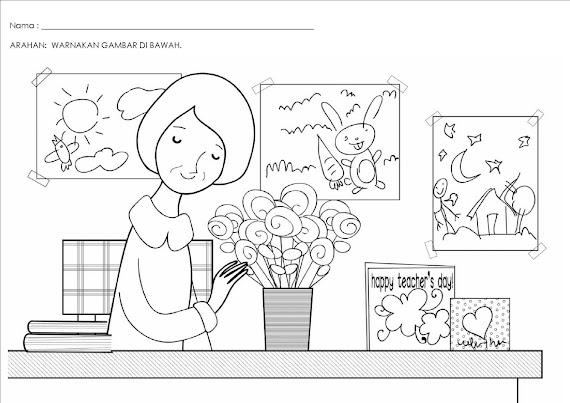 Label Untuk Postingan Gambar Mewarnai Hari Ibu Martias Db21