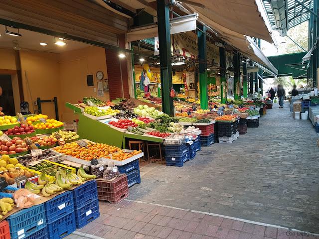 שוק פירות וירקות בסלוניקי