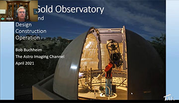 Building your own 15 foot dome at Lost Gold Observatory (Source: Bob Buchheim)