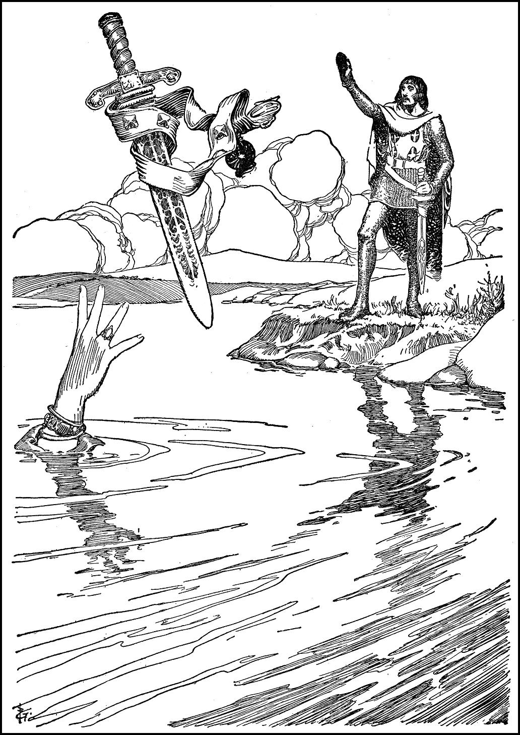 King Arthur Coloring Pages - Eskayalitim