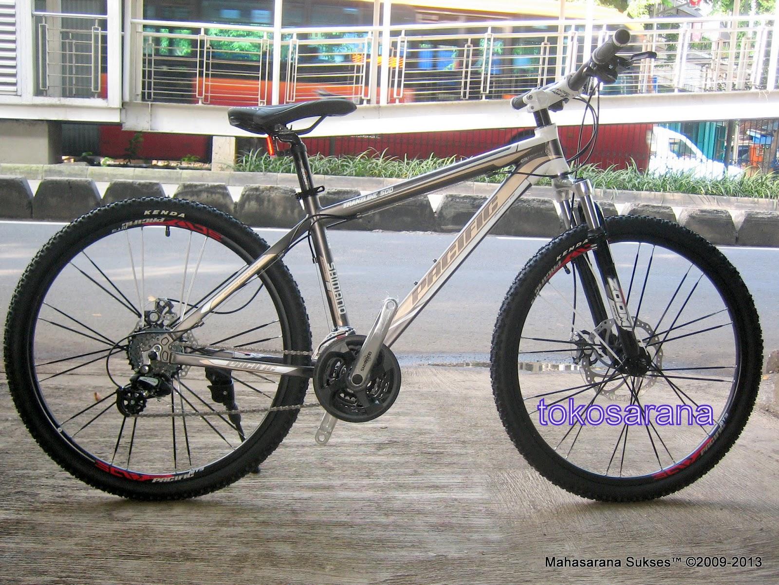 Sepeda Gunung Pacific Tranzline500 24 Speed Shimano