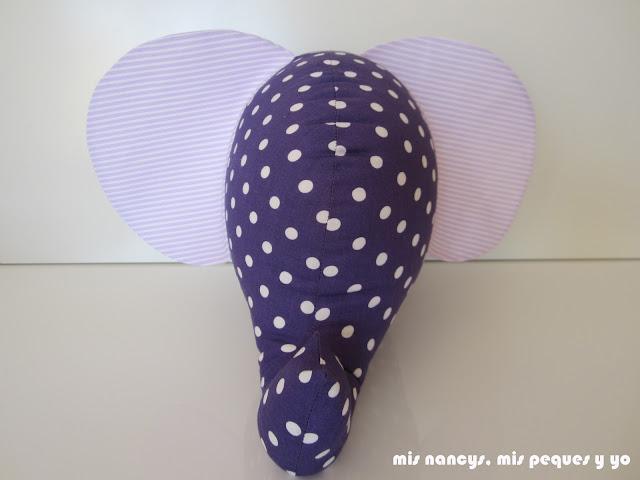 mis nancys, mis peques y yo, elefante de trapo, orejas sueltas