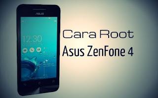 Cara Root Asus Zenfone 4 t001 Dengan PC