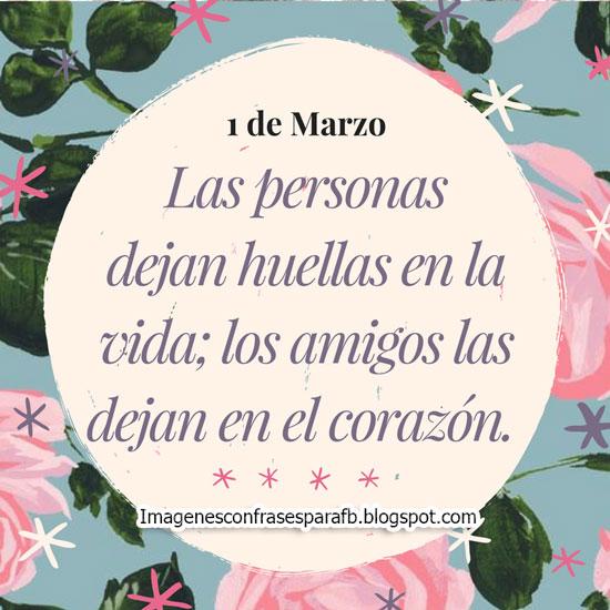 Bienvenido Marzo #Frases