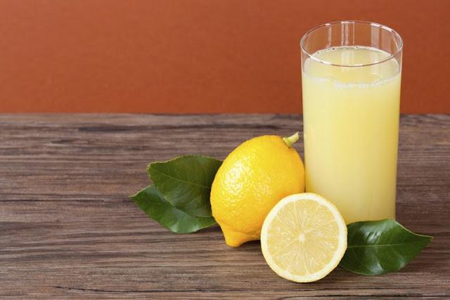 jus lemon penurun kolesterol