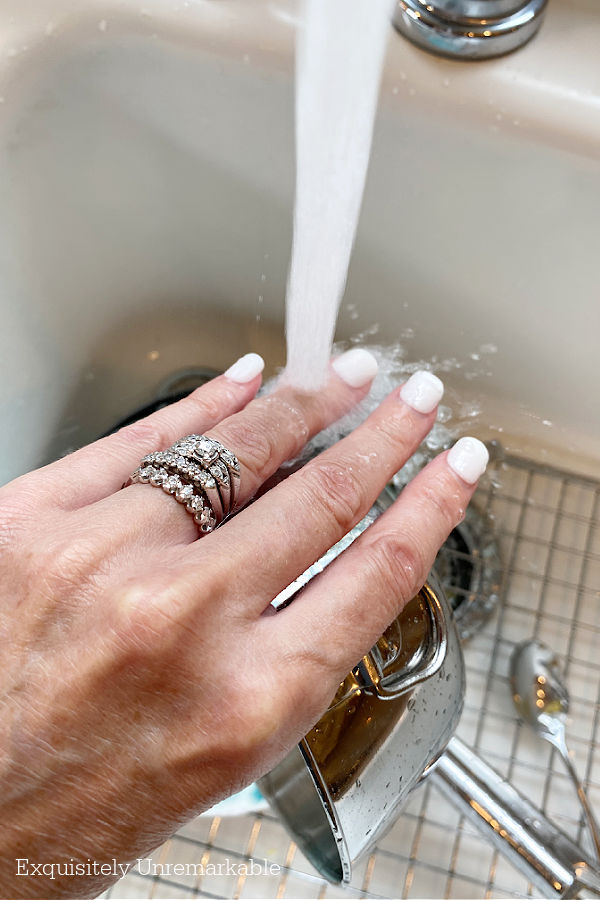 Impress Nails In Water