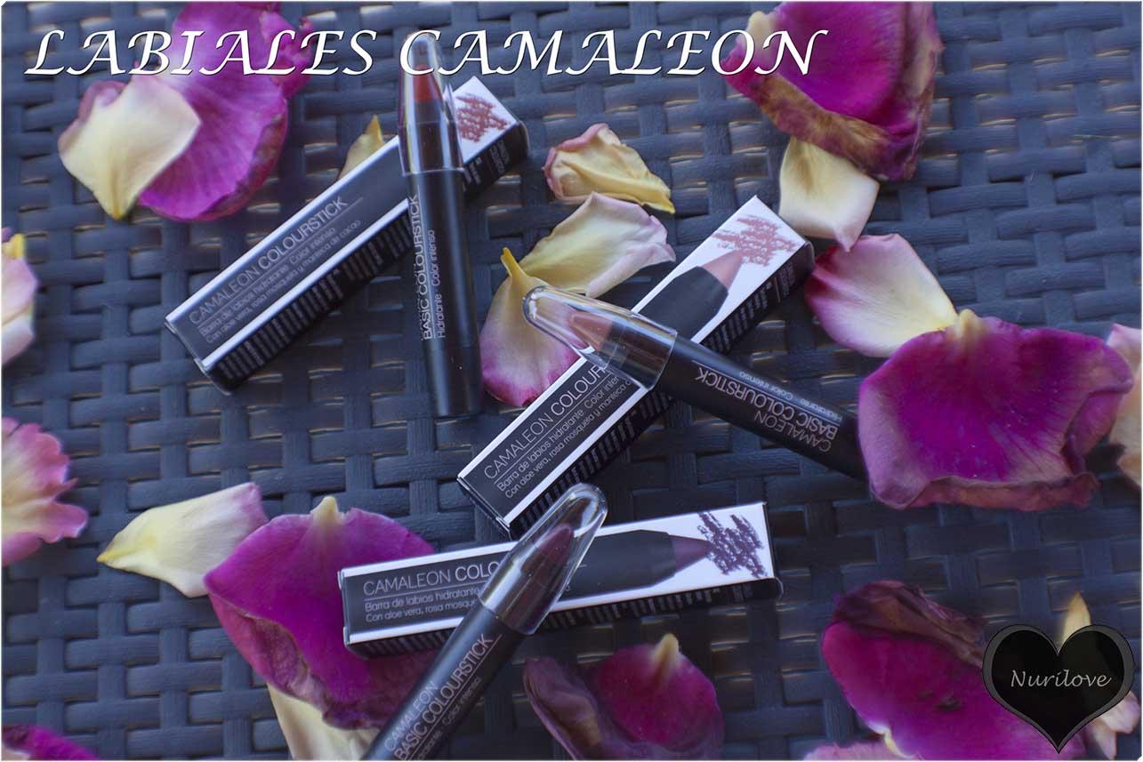 labiales camaleon, en forma de lápiz