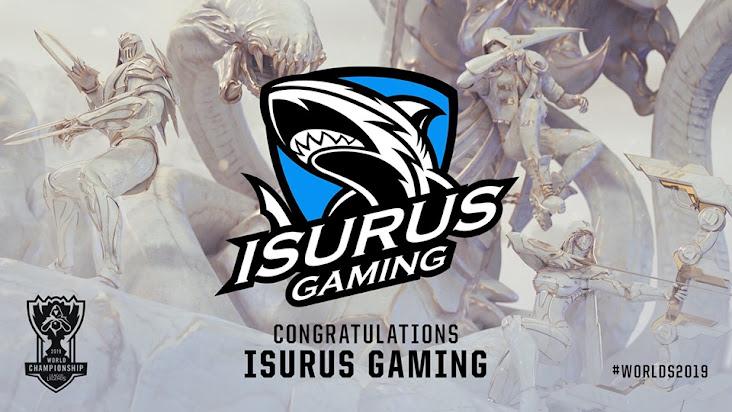 Isurus Gaming – Cá mập xanh và hành trình từ đại dương đến CKTG 2019