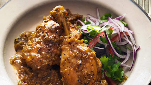 resep masakan ayam lada hitam