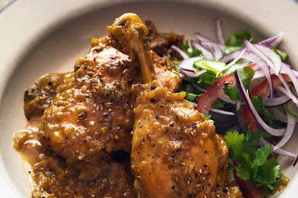 Resep Masakan Ayam Lada Hitam Istimewa