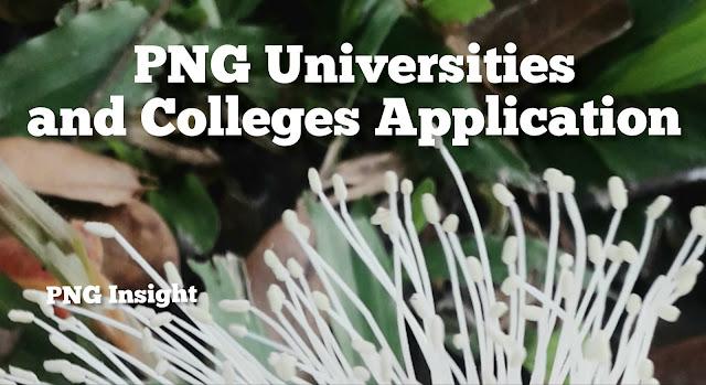 University online application