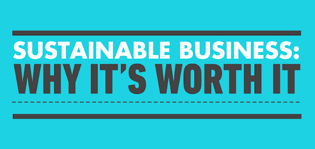 Sustainable Business: Why It's Worth It  #Infographic