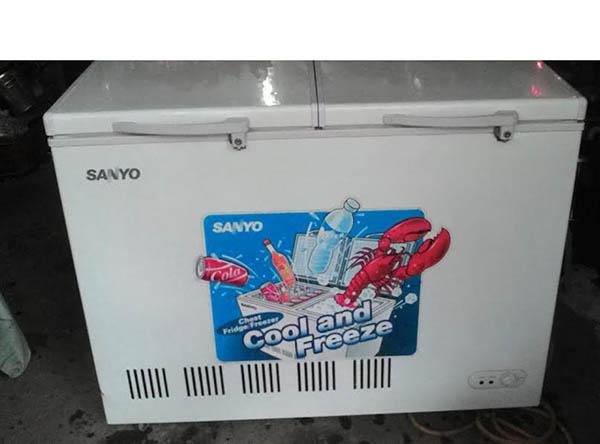Dạo quanh chợ chuyên thanh lý tủ lạnh cũ