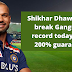 IND vs SL:IND vs SL: Dhawan needs only that much runs away from scoring 6000 runs, this big record of Sourav Ganguly can be broken