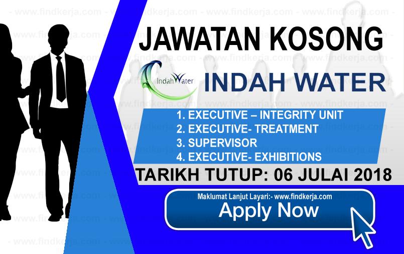 Jawatan Kerja Kosong IWK - Indah Water Konsortium logo www.findkerja.com www.ohjob.info julai 2018