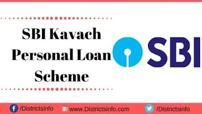 SBI Kavach Personal Loan Scheme