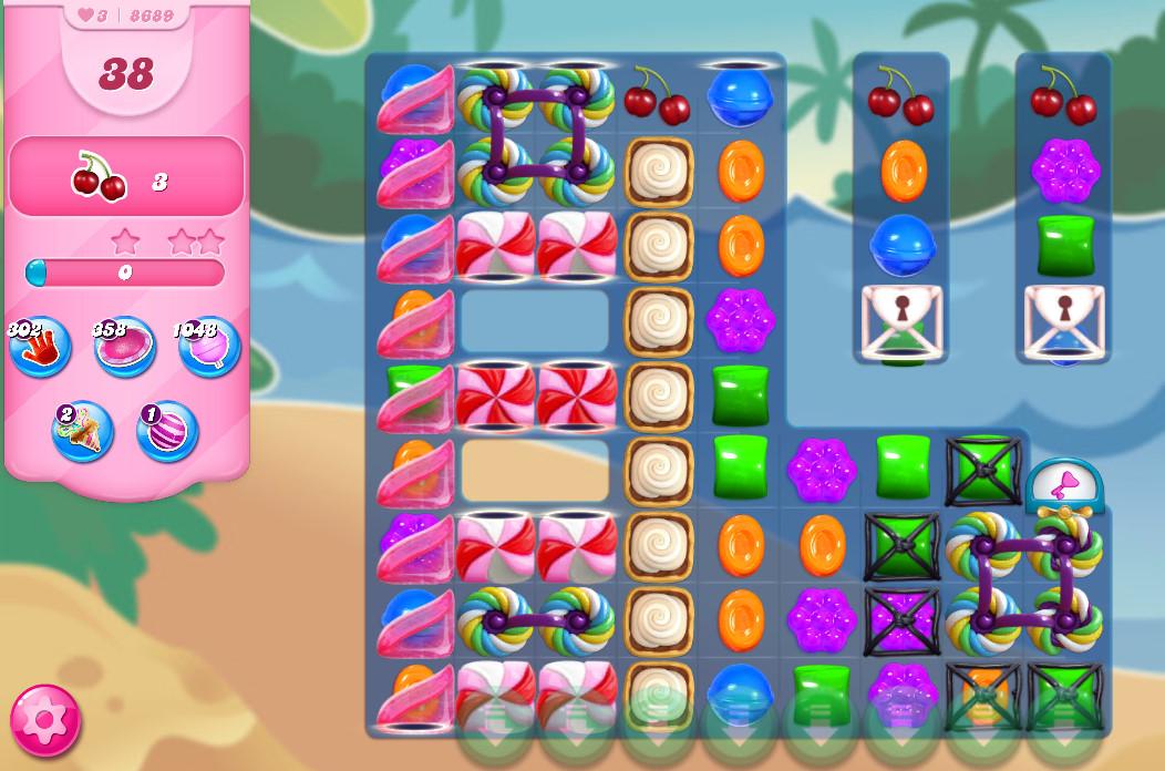 Candy Crush Saga level 8689