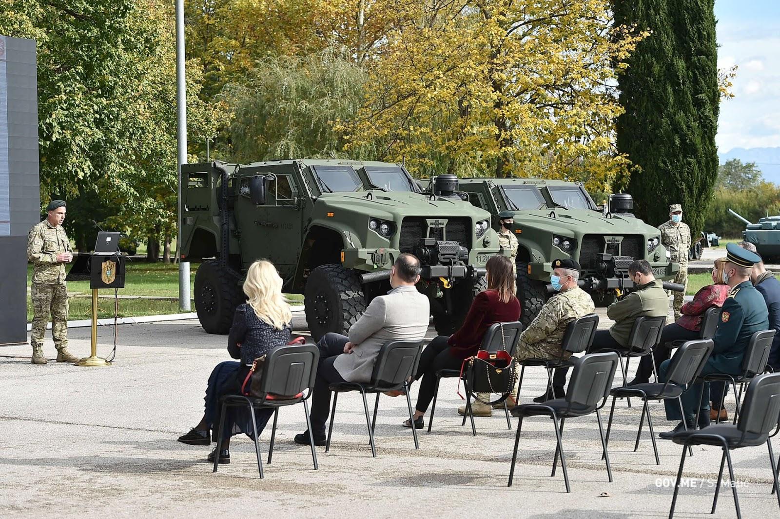 Чорногорія отримала перші замовлені JLTV