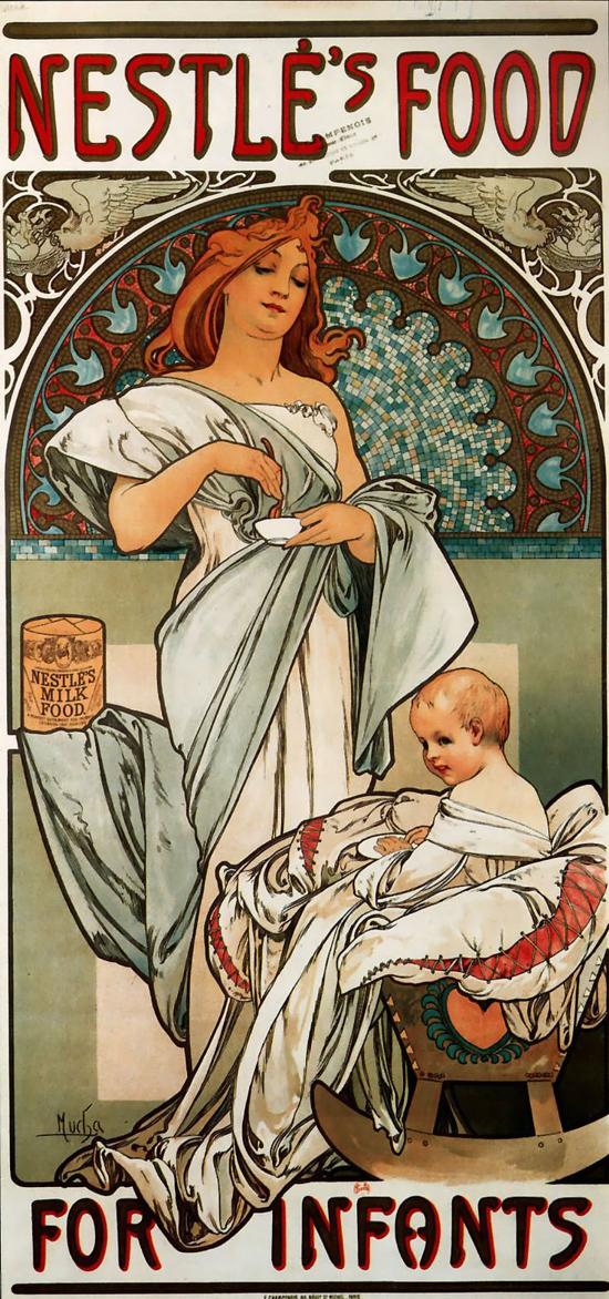 Nestlé advertising 1897