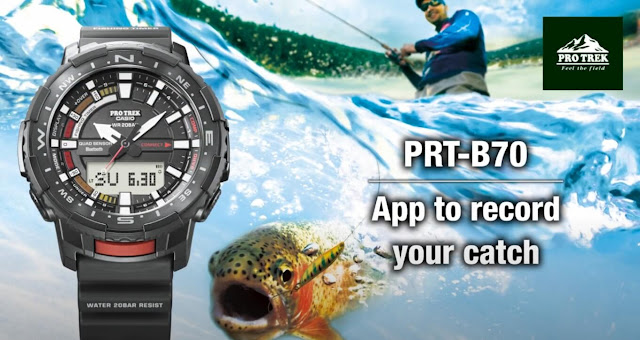 Pro Trek PRTB70 Fish In Time