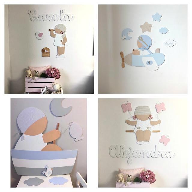 Ideas para decorar  la habitación de tu peque  con siluetas