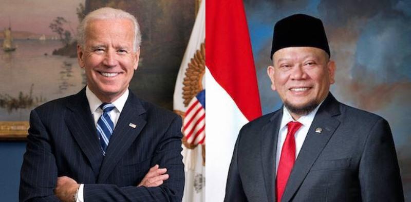 Ketua DPD LaNyalla Mattalitti Sampaikan Selamat Untuk Joe Biden Dan Kamala Harris