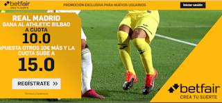 betfair supercuota liga Real Madrid gana Athletic 5 julio 2020