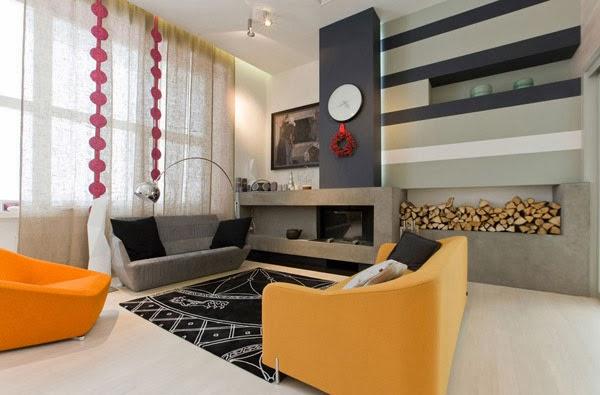 Dise os de modernas salas peque as colores en casa for Accesorios para salas pequenas