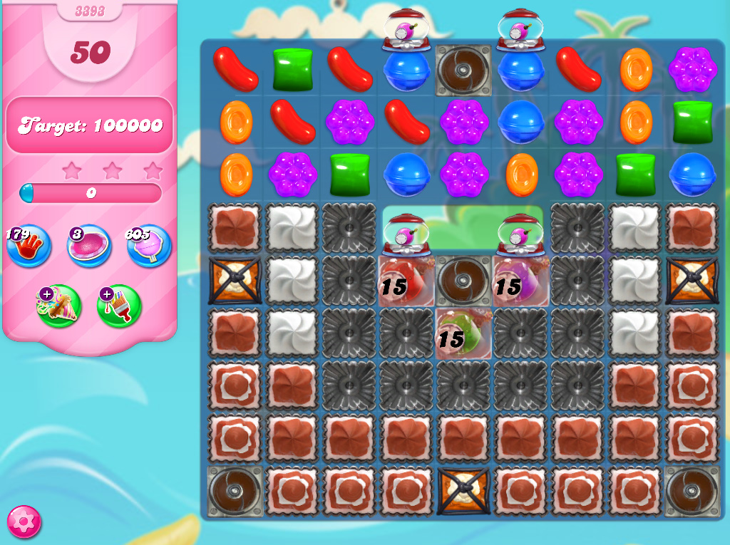 Candy Crush Saga level 3393